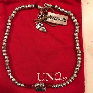 "NEW PRICE!!!! Uno de 50 ""Love Me Tender"" necklace"